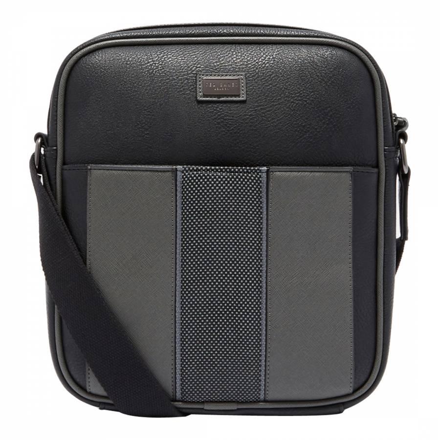 b27660521f72 Black Mask Webbing Flight Bag - BrandAlley