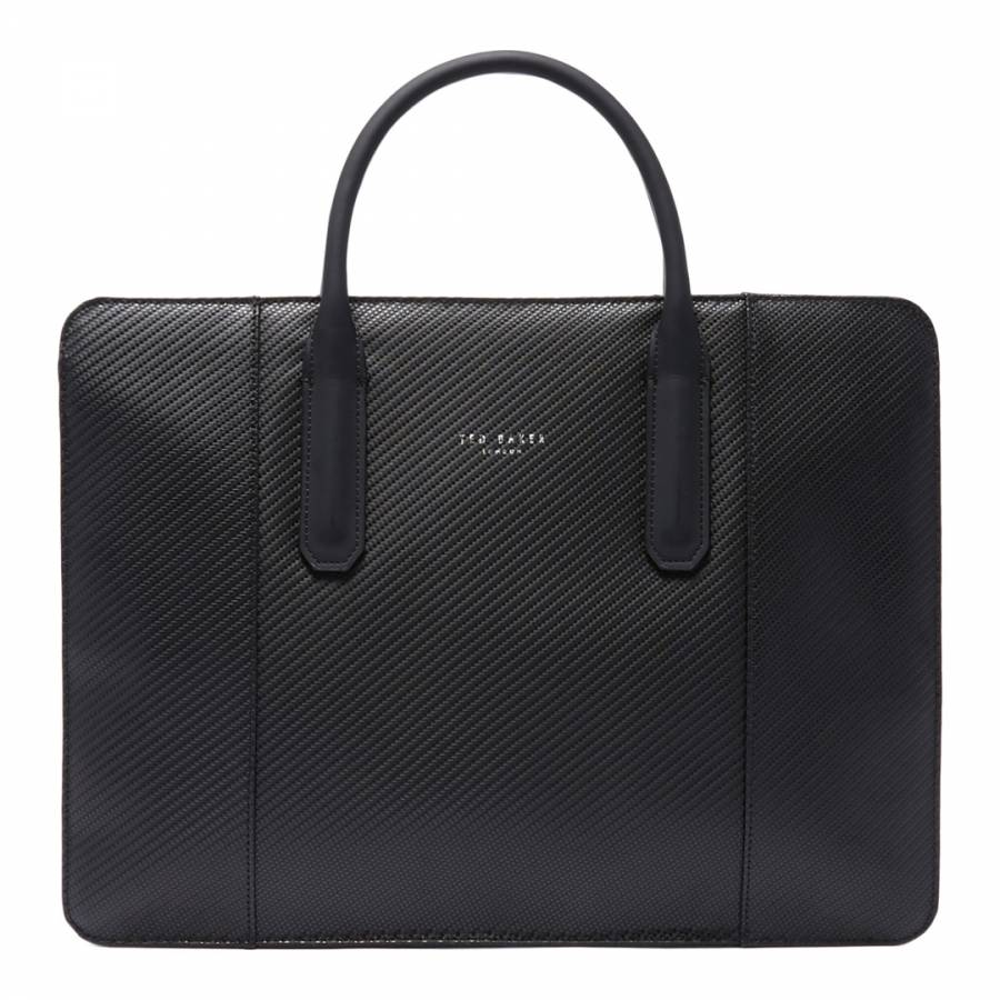 56ba24651a54 Ted Baker. Khaki Crossed Printed Holdall. £95.00 Was £189.00 50% Off ·  Black Montan Carbon Fibre Slim Document Bag