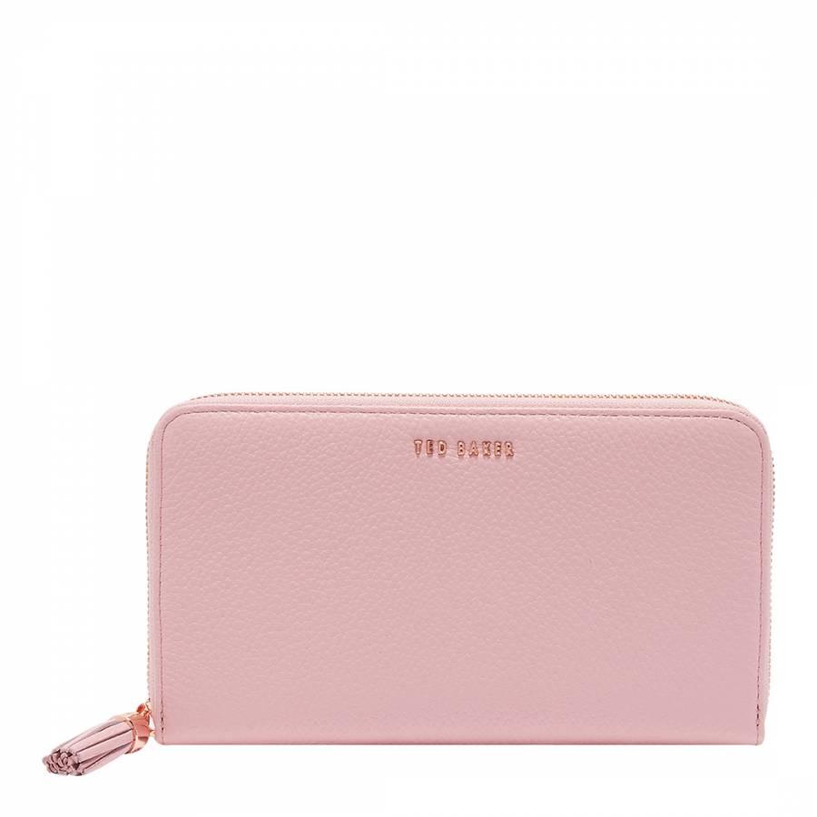 2a3439f61 Dusky Pink Sheea Tassel Zip Around Matinee - BrandAlley