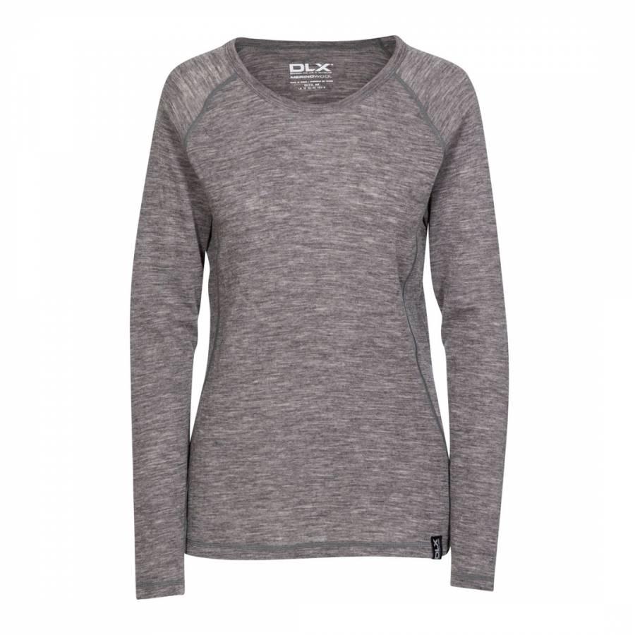 eb9df0c9357a81 Dark Grey Libra Merino Wool Base Layer - BrandAlley
