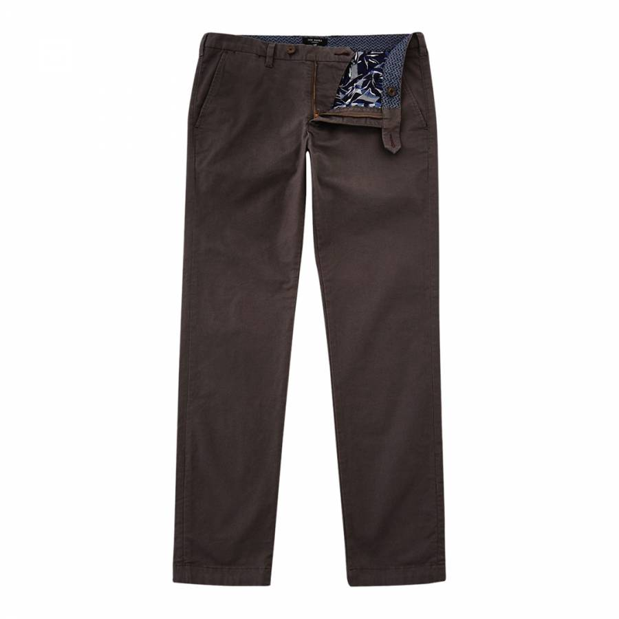 9470d0a50 Ted Baker. Navy Koossic Classic Fit Brushed Trousers. £49.00 Was £99.00 51%  Off · Charcoal Procor Slim Fit Chinos