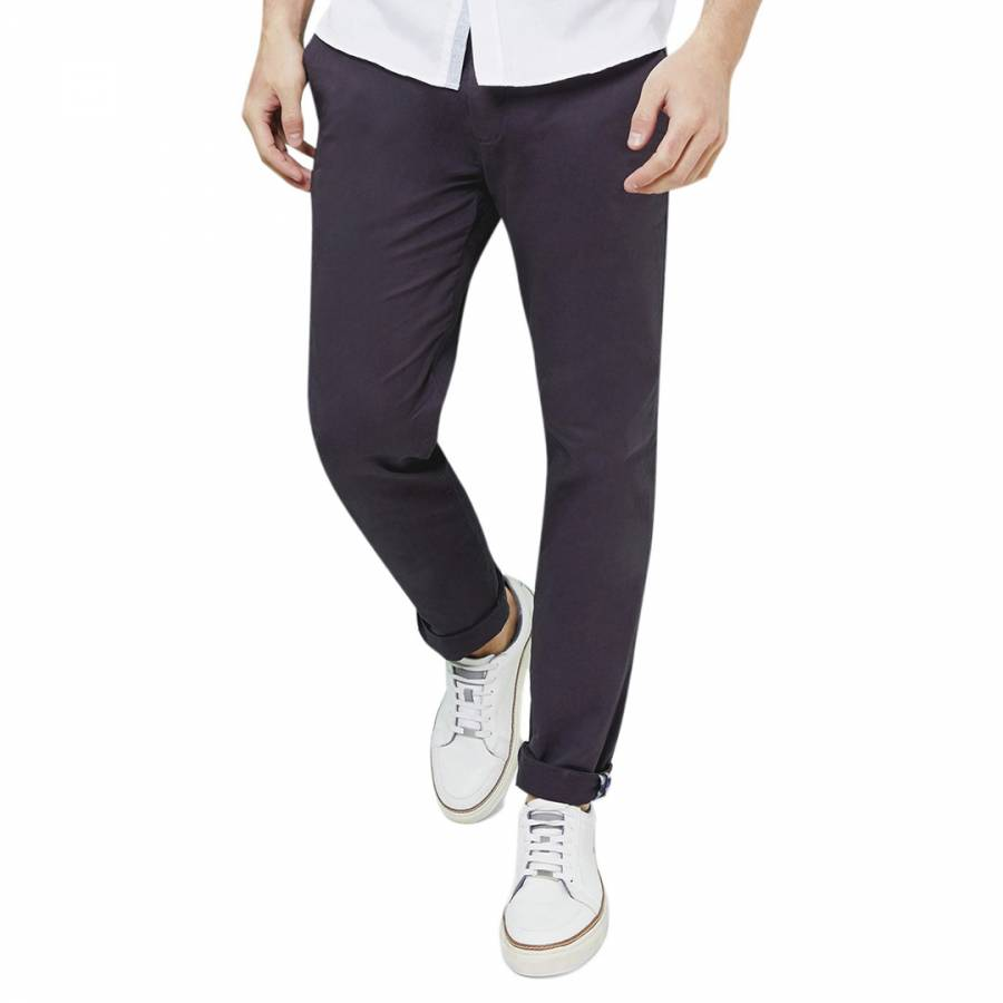 ed954d0d0cc46b Navy Procor Slim Fit Chinos - BrandAlley