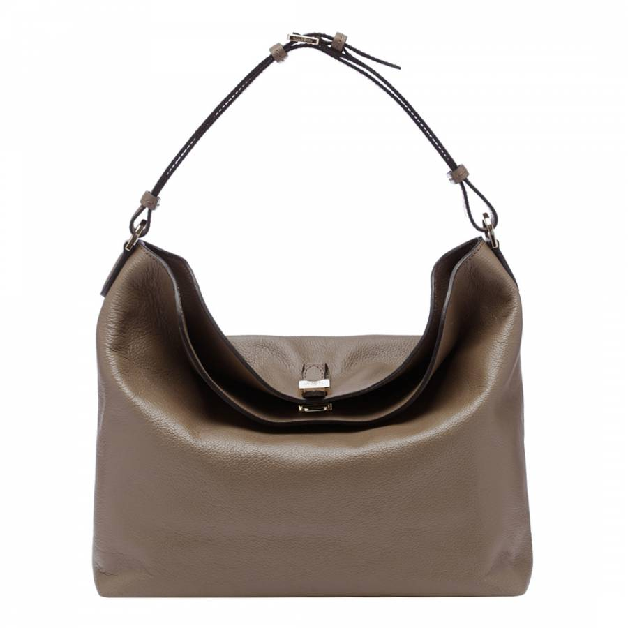 261e36225420 Granite Grey Flower Oval Classic Zip Shoulder Bag. £59.00 Was £125.00 53%  Off. Clay Tessie Classic Grain Hobo Bag