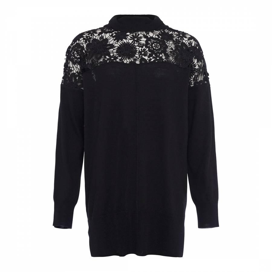 43e2ec1d661 Cinder Rose Manzoni Lace Shirt - BrandAlley