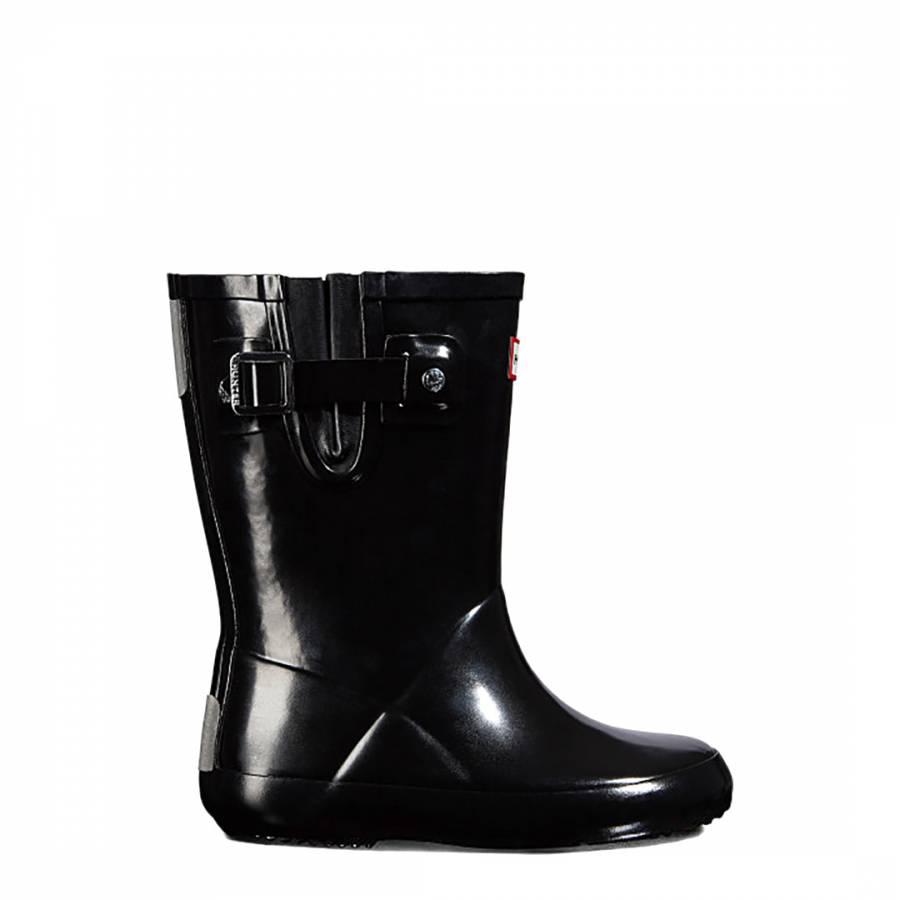 64083133eca8 Kids Green Classic Highland Print Wellington Boots - BrandAlley