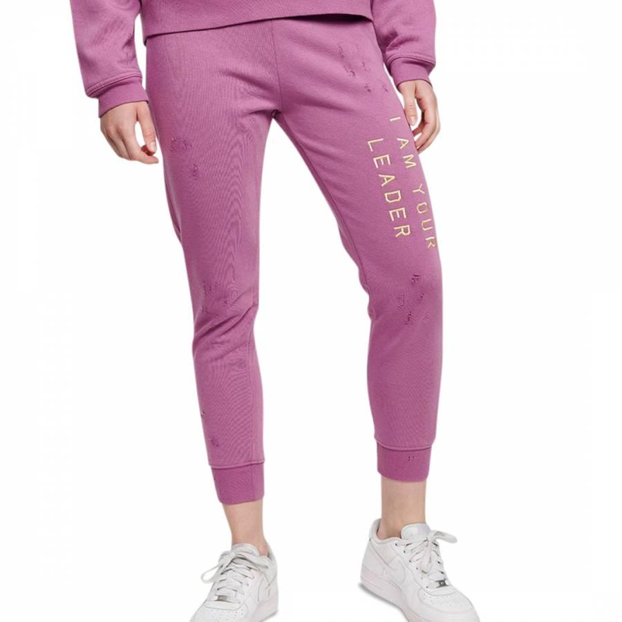 Image of Amethyst Slim Fit Cropped Sweatpants