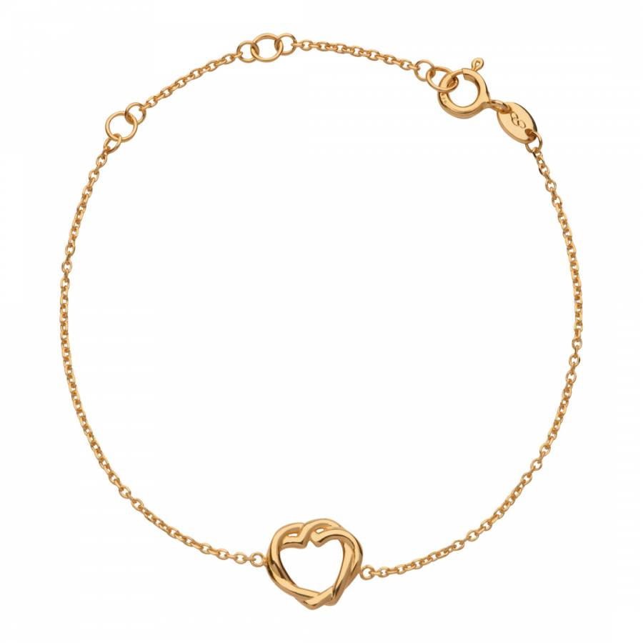 Links of London Womens Jewellery Kindred Soul Yellow Gold Vermeil Pendant