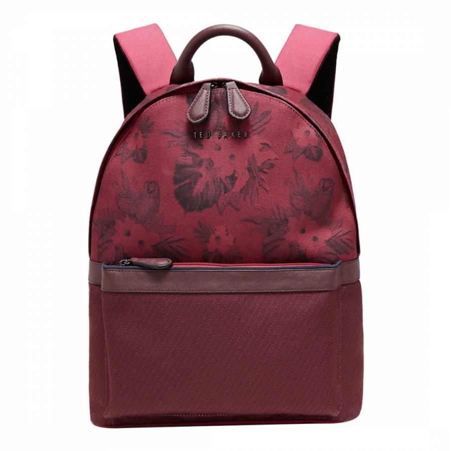 73b9111340c Oxblood Printed Braver Backpack - BrandAlley
