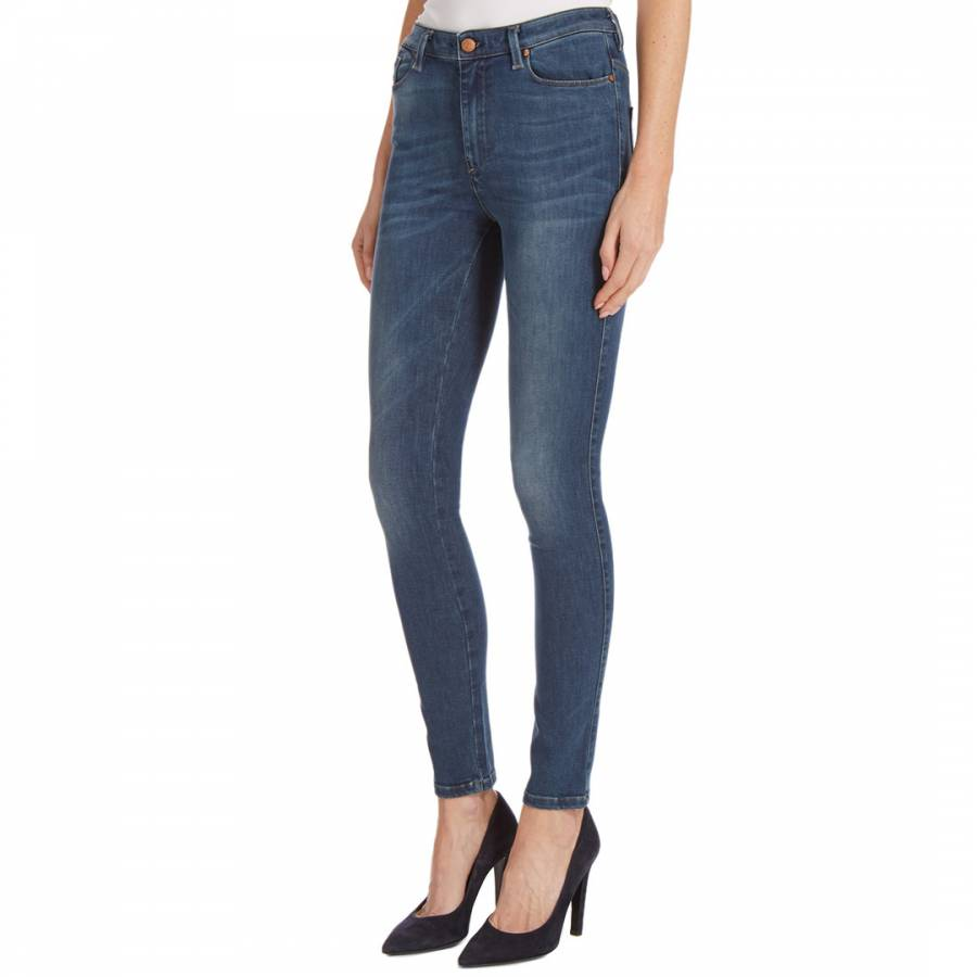 d13fdf70 Indigo Skinzee High Rise Stretch Jeans - BrandAlley