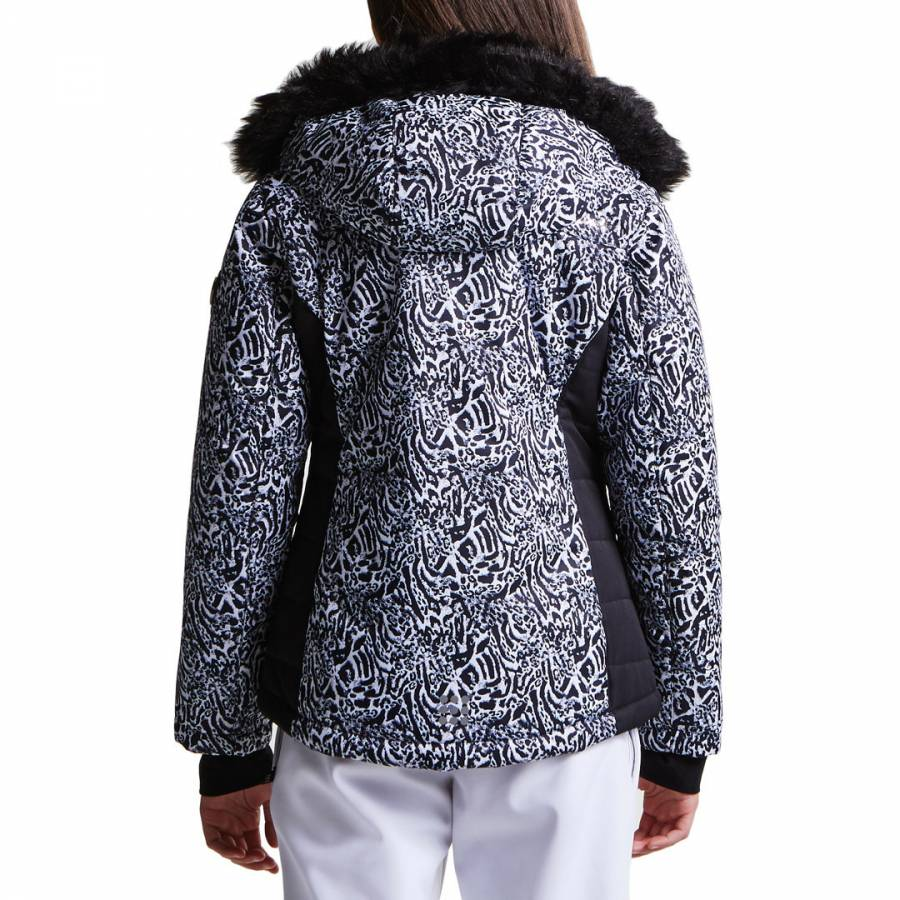 3c067d21bed4 Kids Black Animal Print Muse Luxe Ski Jacket - BrandAlley