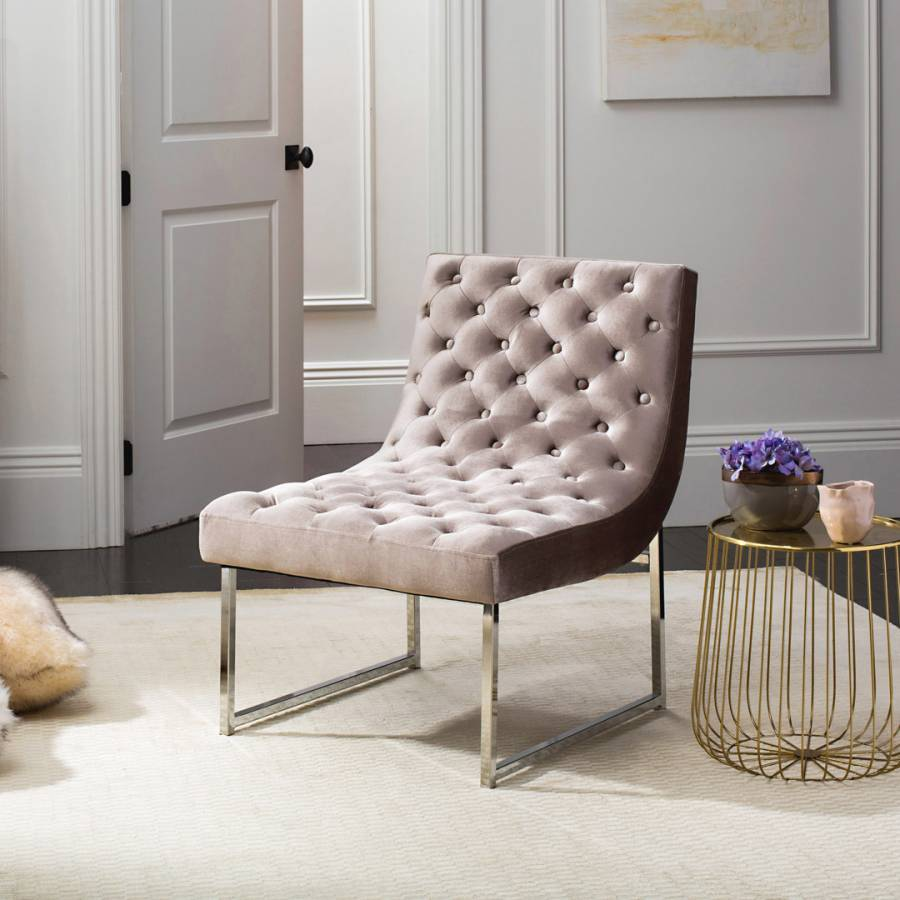 Pair of Original POEM Chairs in Tufted