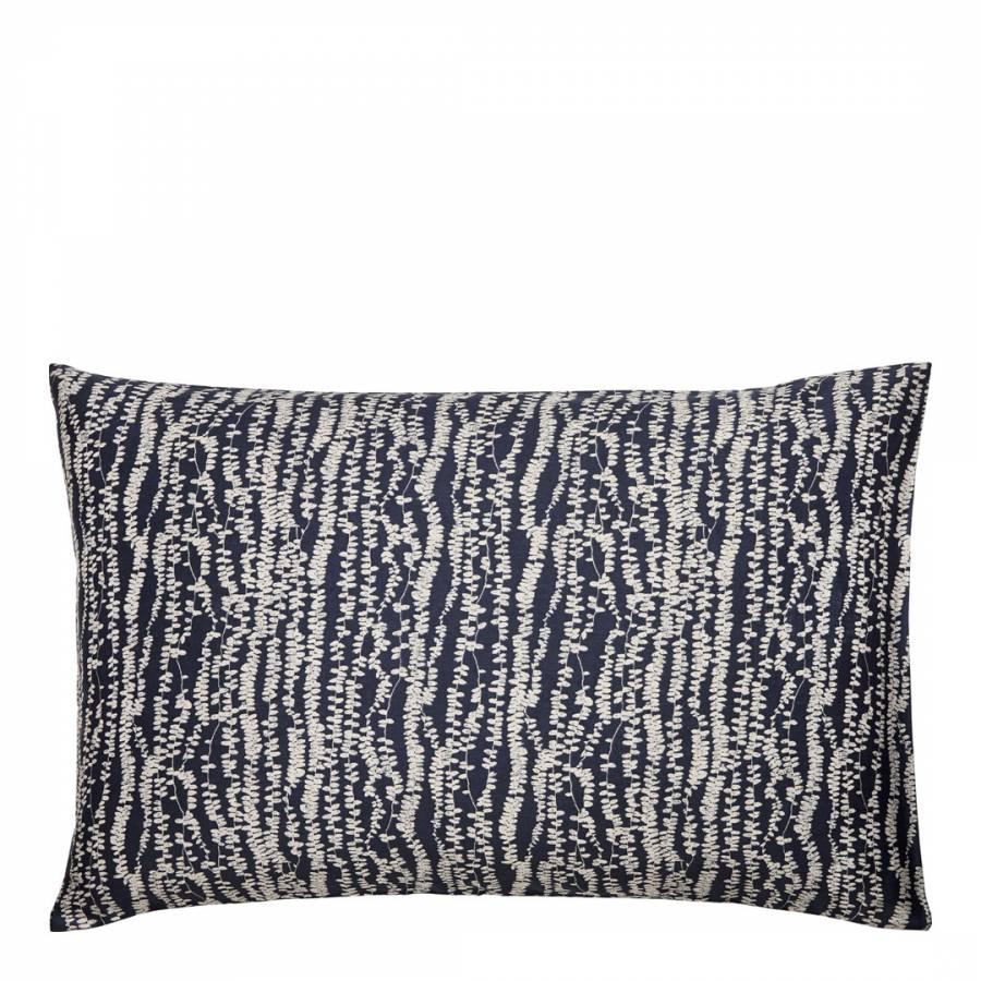 Image of Indigo Patchwork Housewife Pillowcase Indigo