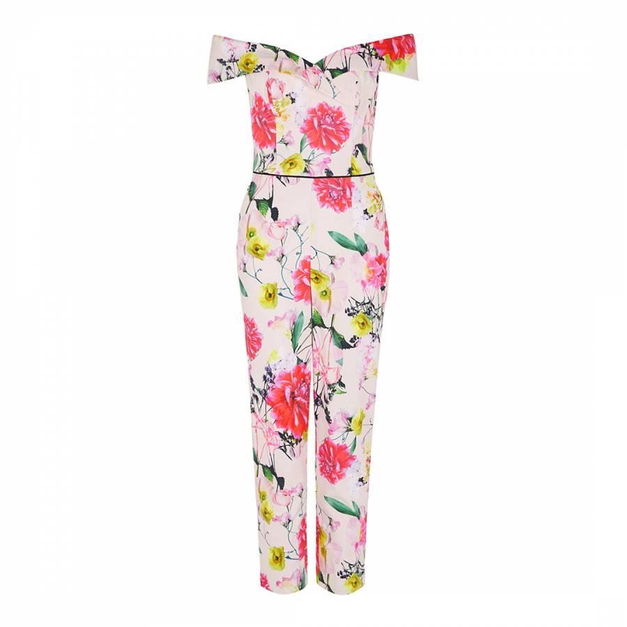 eeaf92b9e1 Multi Denise Floral Jumpsuit - BrandAlley