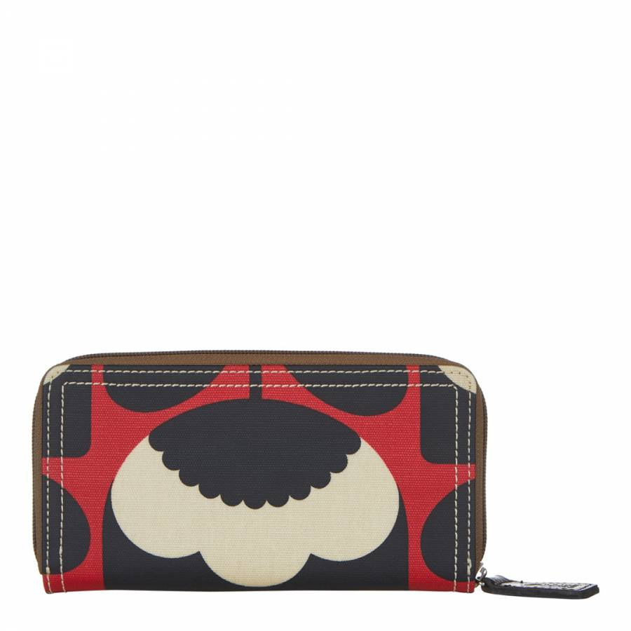 e55bd98c5f49 Poppy Spring Bloom Big Zip Wallet - BrandAlley