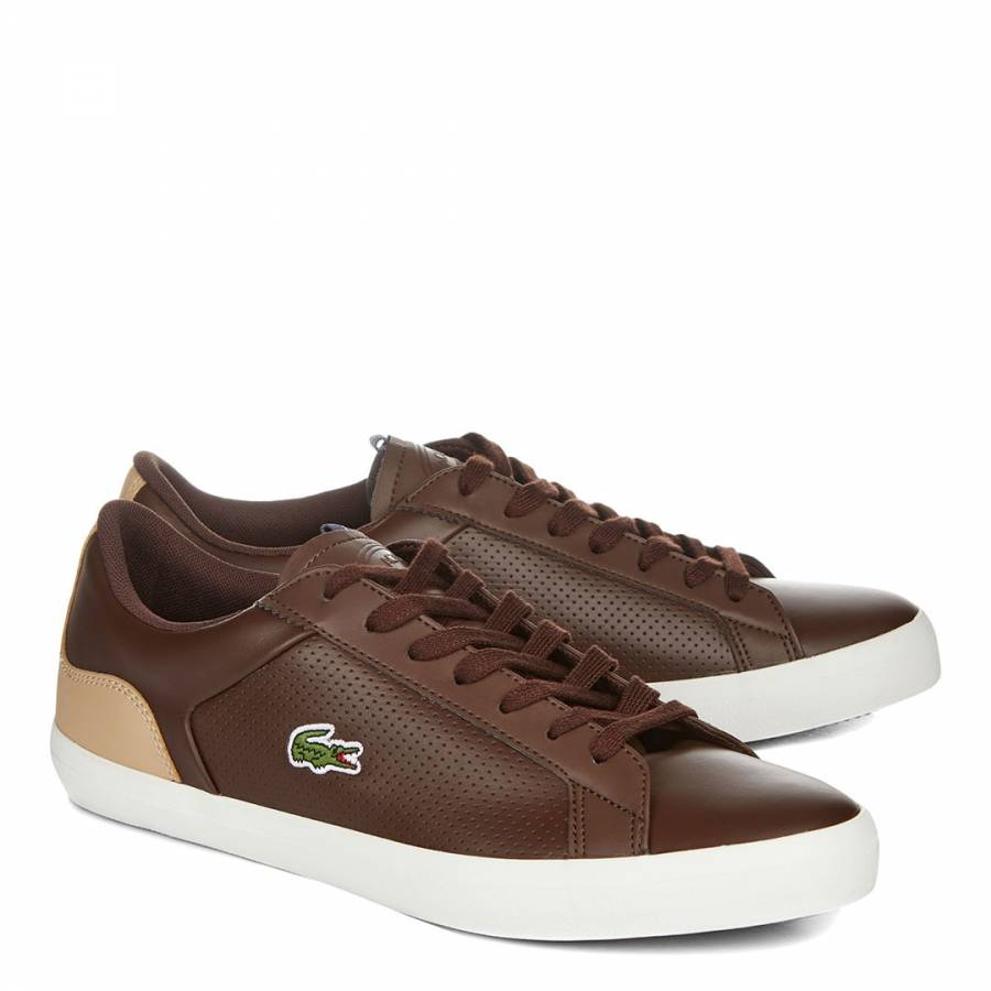 3fc06ff91 Brown Leather Lerond 418 Low Trainers - BrandAlley