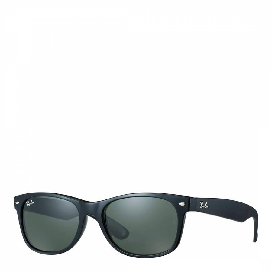 8b09beff5b012 Men s Black New Wayfarer Sunglasses 58mm - BrandAlley