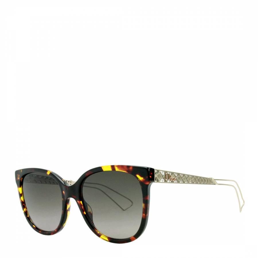 bffd72ac008 Zoom · Christian Dior Women s Black Blue Red Grey Alex Sunglasses 55mm