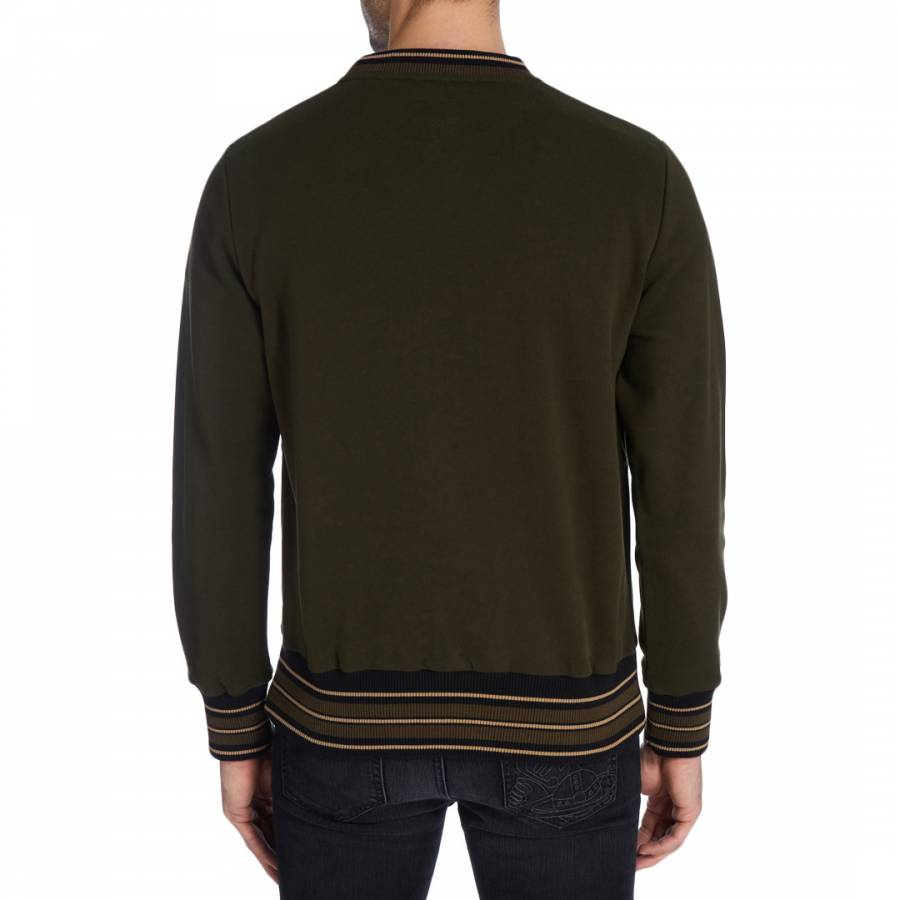840ac792 Green Crown Embroidery Sweatshirt - BrandAlley