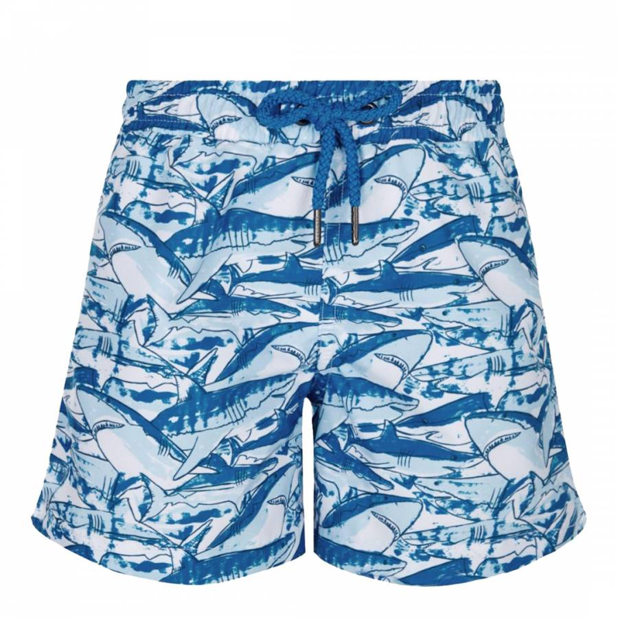 9c9258b9ce Boys Blue Shark Swim Short - BrandAlley