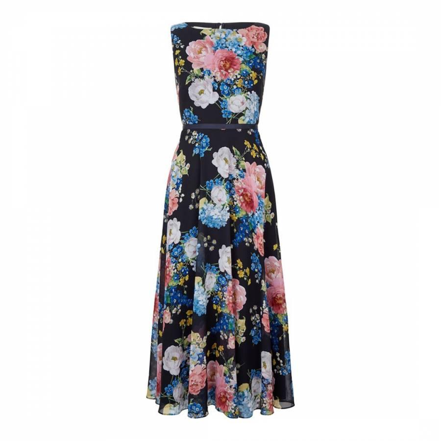 f31f6623b0f1 Hobbs London Navy/Floral Carly Dress
