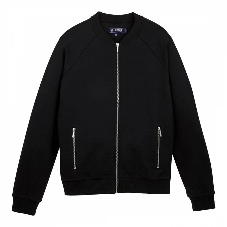 Image of Black Bubble Turtle Embroidery Sweatshirt