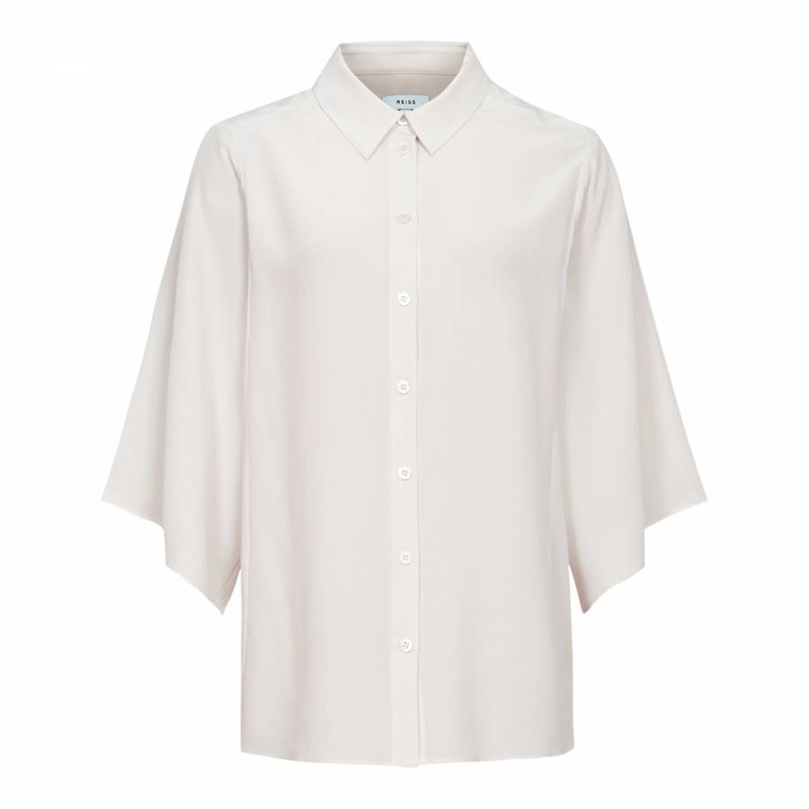 16287c8e54091f Off White Lila Silk Sleeveless Silk Blouse - BrandAlley