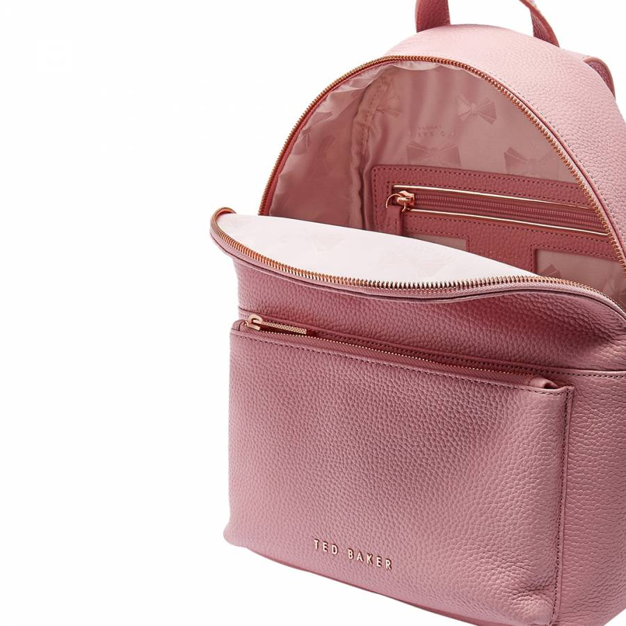 87911a71e Dusky Pink Pearen Soft Grain Backpack - BrandAlley