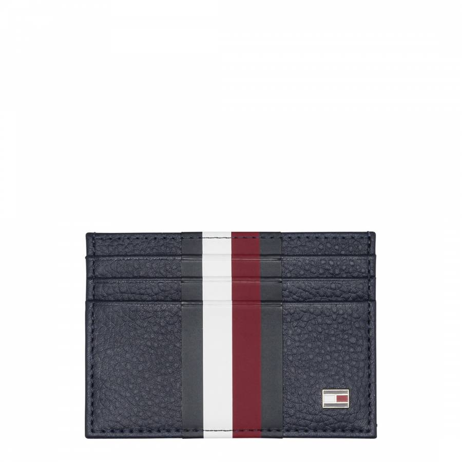 3d2e2610 Blue Block Stripe Card Holder - BrandAlley