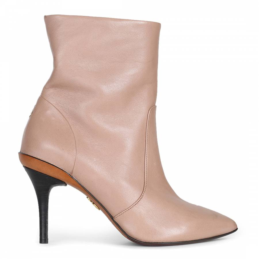 347689aa5f7 Sand Leather Pandoro Ankle Boots