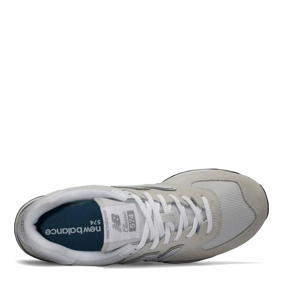 f09fd8184a5e8 Grey Evergreen Suede 574 Sneakers - BrandAlley