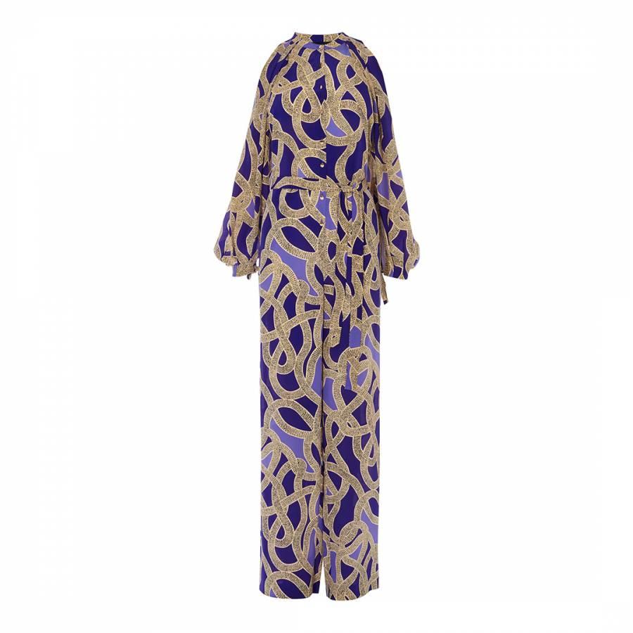 0827d30335 Multi Snake Print Jumpsuit - BrandAlley
