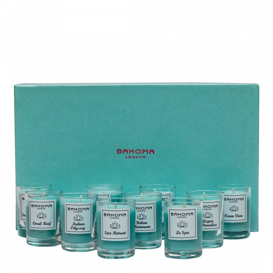 Discovery set of 10 mini candles