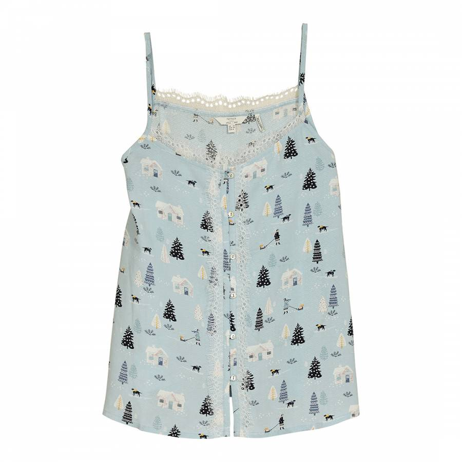5eed54ee87 Chambray Nordic Lace Cami - BrandAlley