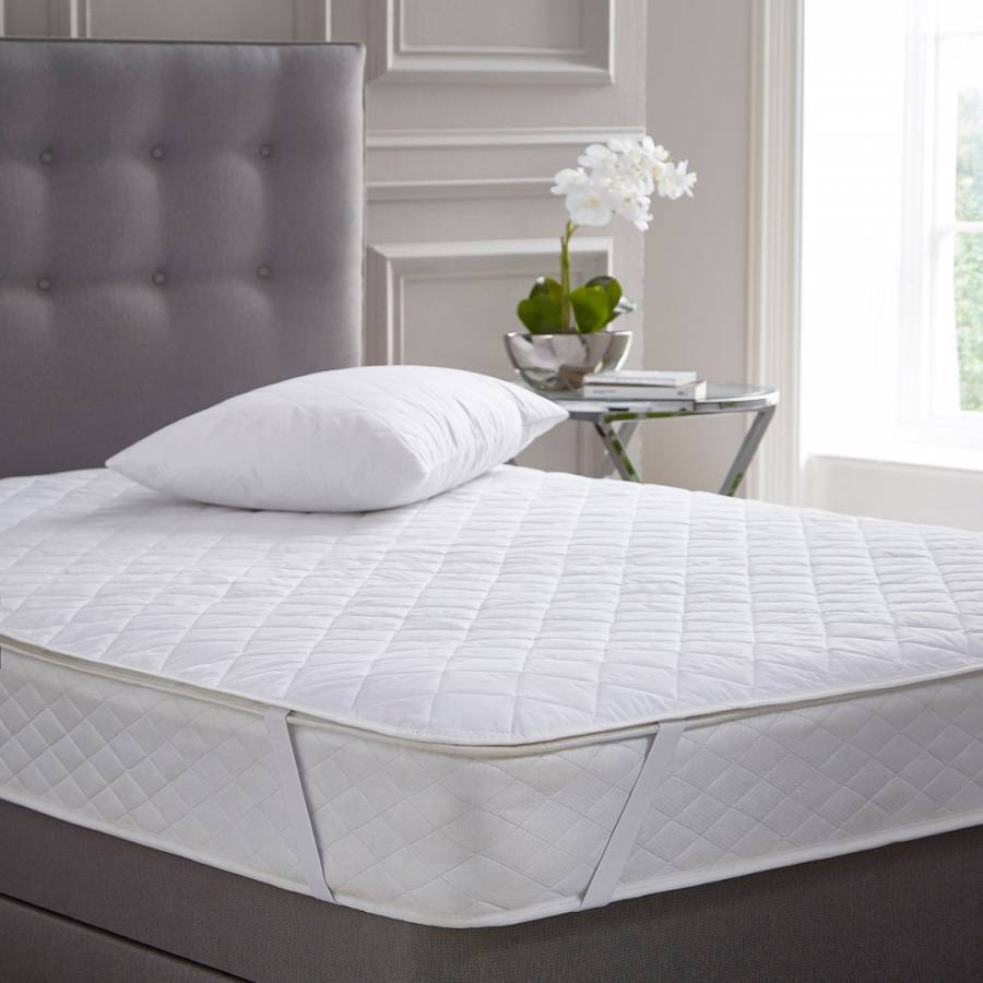 Pure Cotton King Mattress Protector - BrandAlley