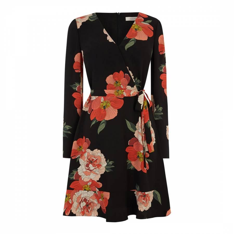 5cf86f3c5ca7 Multi Bold Bloom Short Skater Dress - BrandAlley