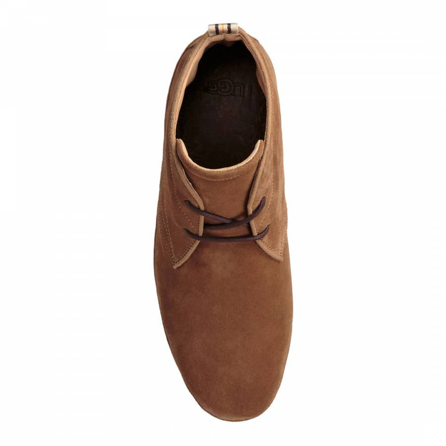 2f28b4613a8 Chestnut Suede Cali Chukka Boots - BrandAlley
