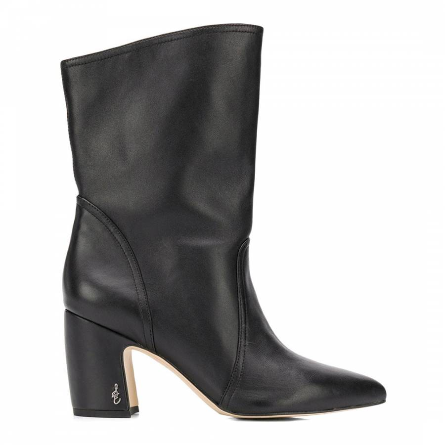 4c7c7cadcd23 Continue Shopping Checkout · Sam Edelman Black Leather Hartley Mid Calf  Boots
