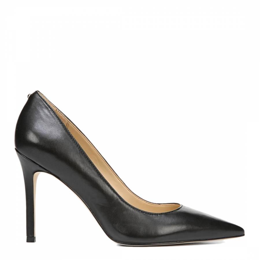 Image of Black Nappa Leather Hazel Court Shoes