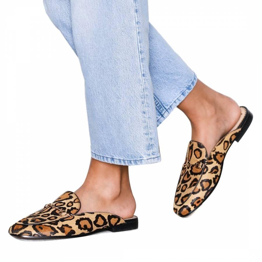 3a9c7f8e0961 Leopard Linnie Bit Mules - BrandAlley