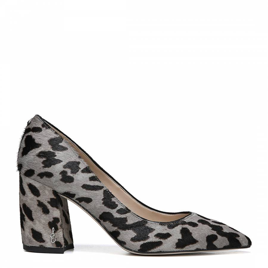 b032a91095a5 Grey Leopard Print Tatiana Brahma Court Shoes - BrandAlley