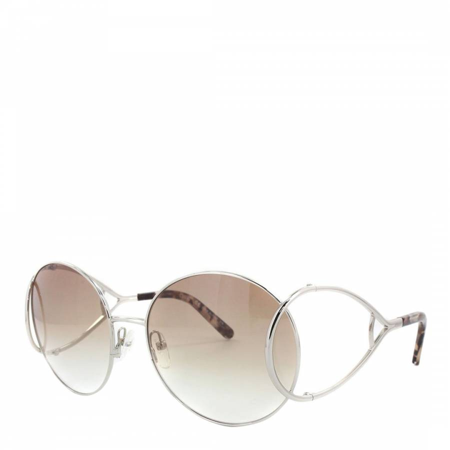 0f3018c8 Women's Silver / Brown Chloe Sunglasses 60mm