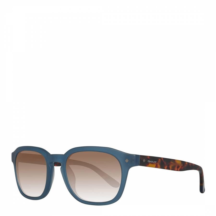 b729eaadc2 Men s Blue   Brown Havana Gant Sunglasses 53mm - BrandAlley