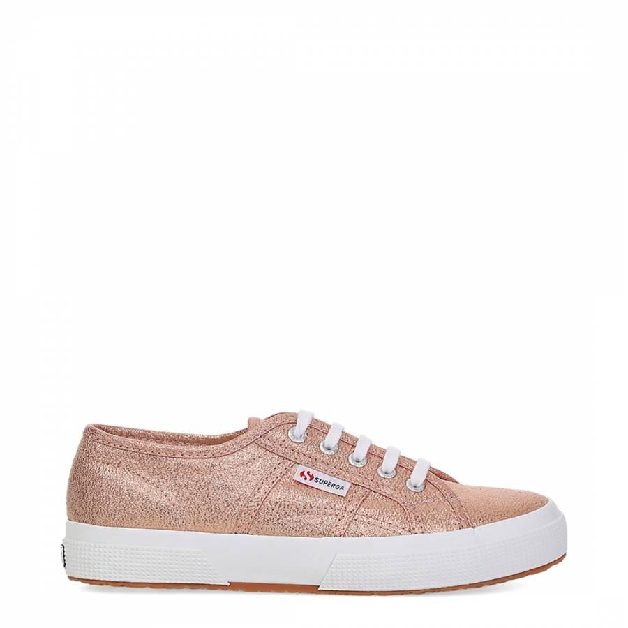 9555426022e Rose Gold Matte Sequin 2750 Sneakers - BrandAlley
