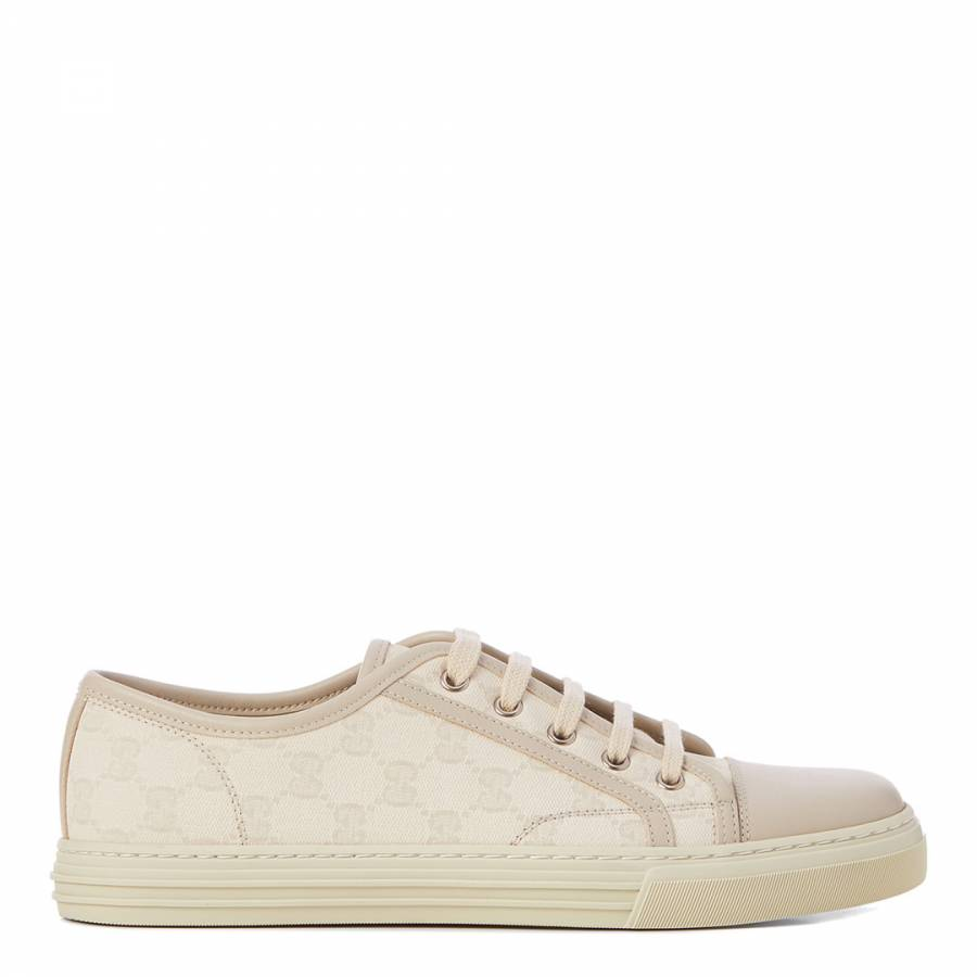 30961ebbd15693 Off White Original GG Canvas Low Top Sneakers - Gucci - Brands - Men ...