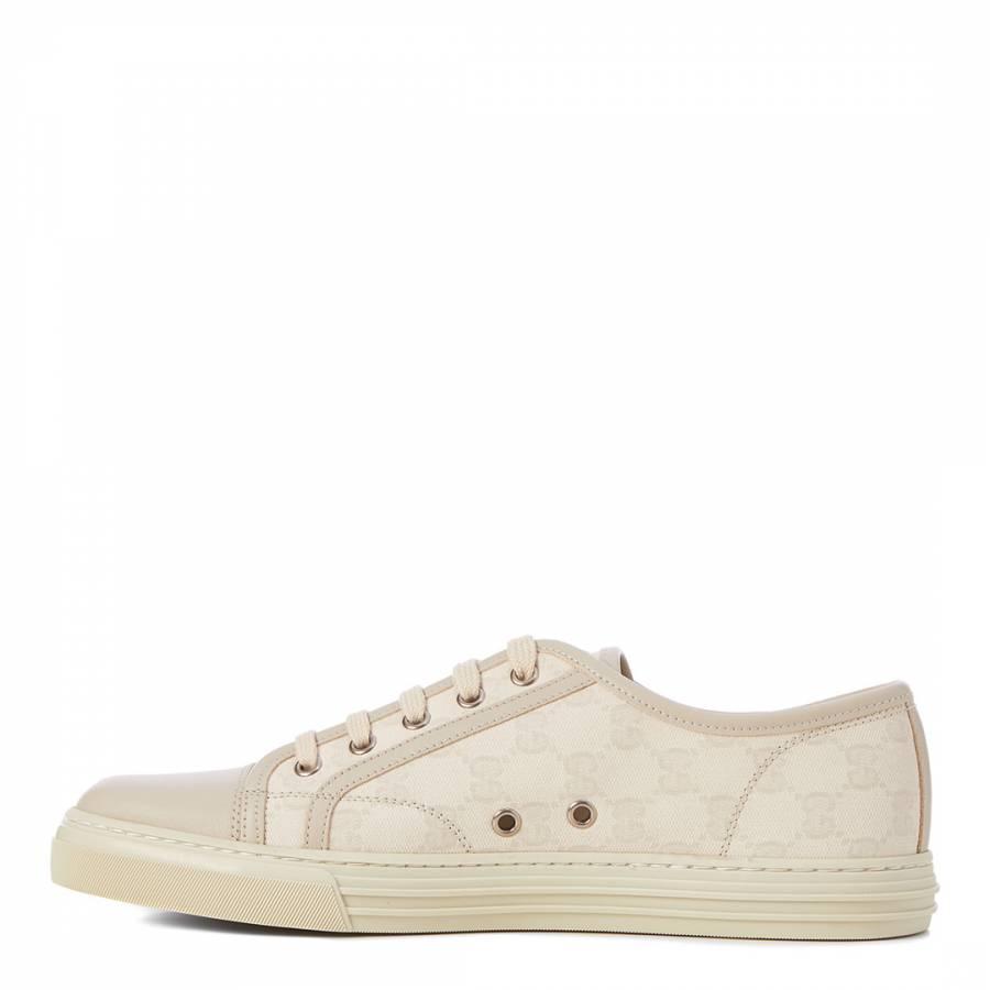 fadfaf570dc9e7 Off White Original GG Canvas Low Top Sneakers - Gucci - Brands - Men -  BrandAlley