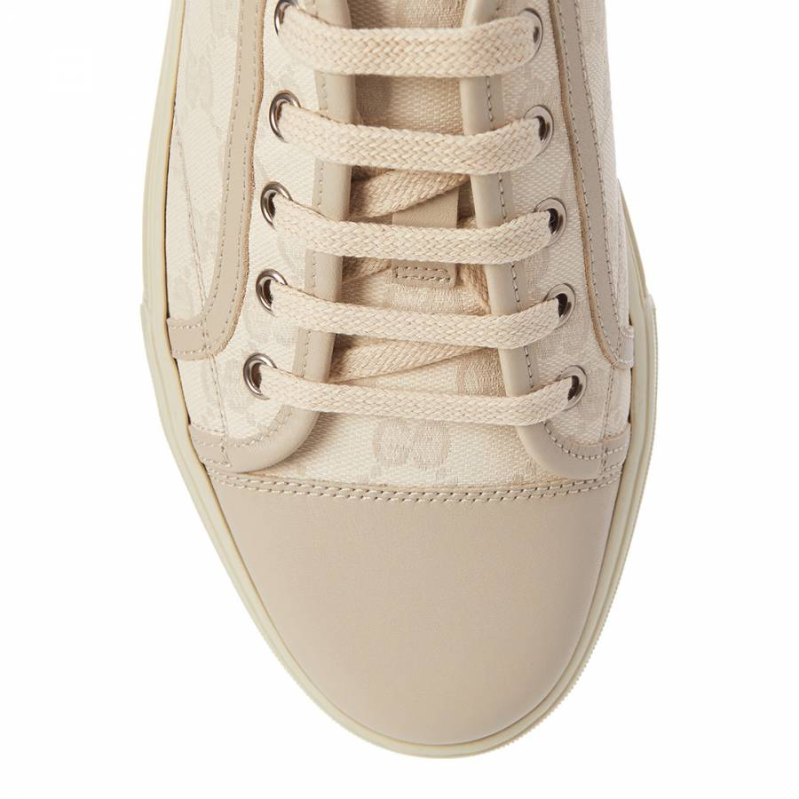 68ae192eeb84c Off White Original GG Canvas Low Top Sneakers - BrandAlley