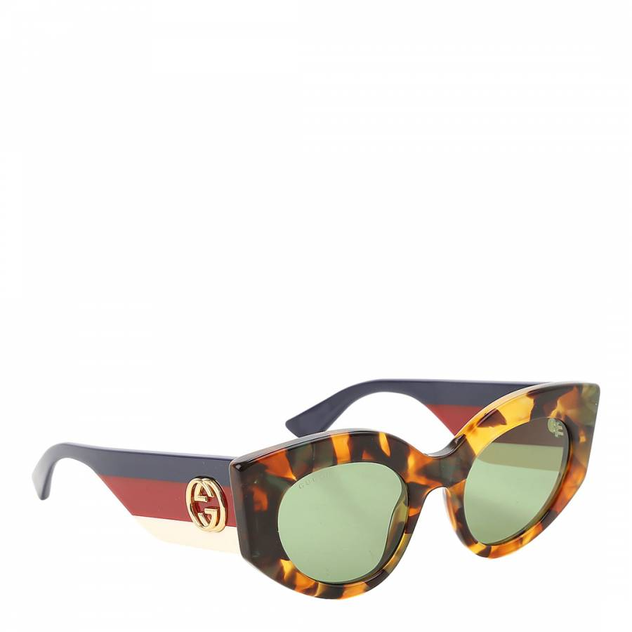 cd65192de35 Women s Multi Green Shaded Gucci Sunglasses 50mm - BrandAlley