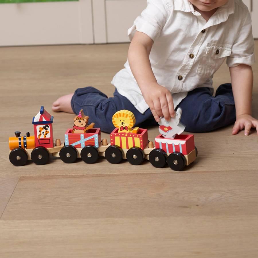 Alphabet Circus Train Puzzle - BrandAlley
