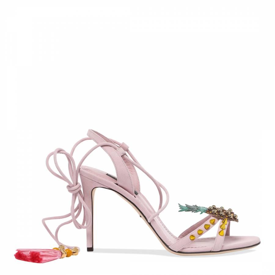 c5479425e Dolce   Gabbana. Pink Suede Pineapple Pom ...