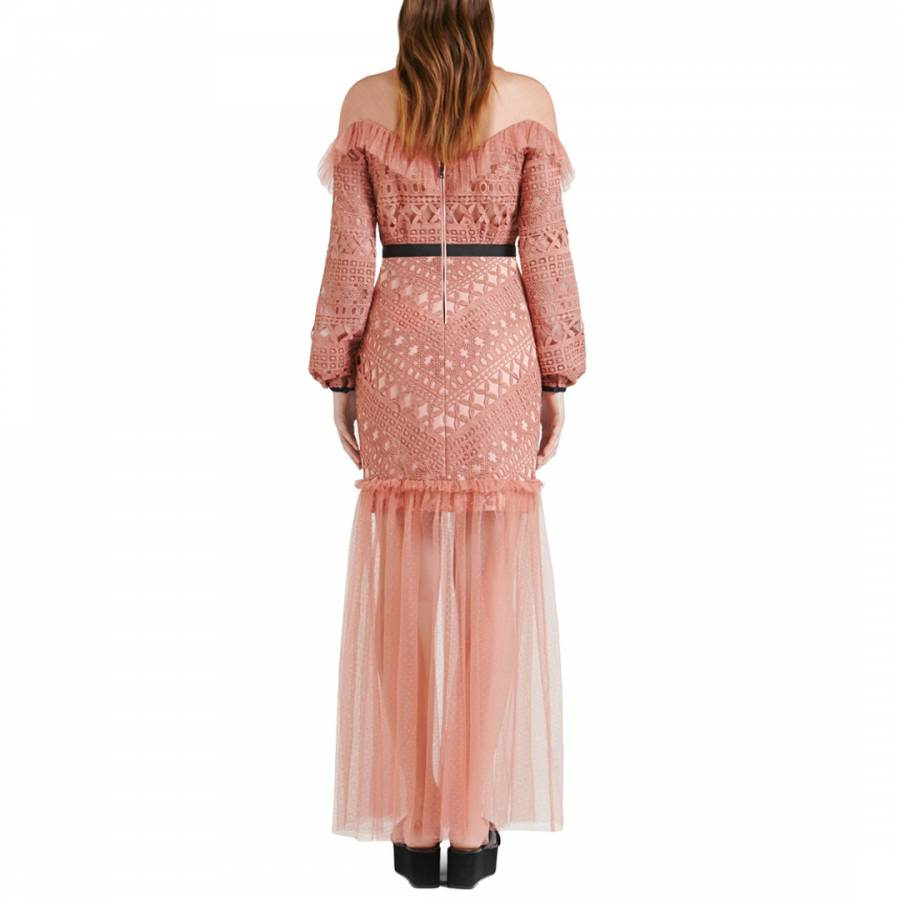 Rose Black Darjeeling Dress Brandalley